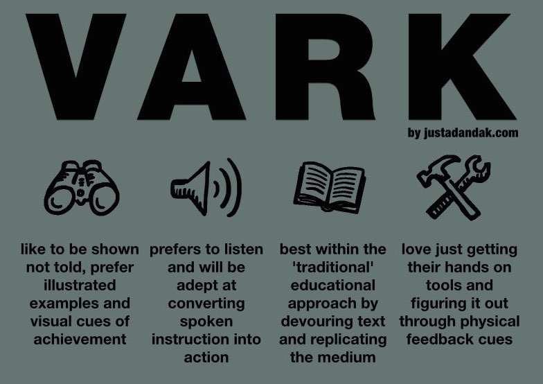 VARK Learning Styles Aural/Auditory (A) - Mishaun Cannon